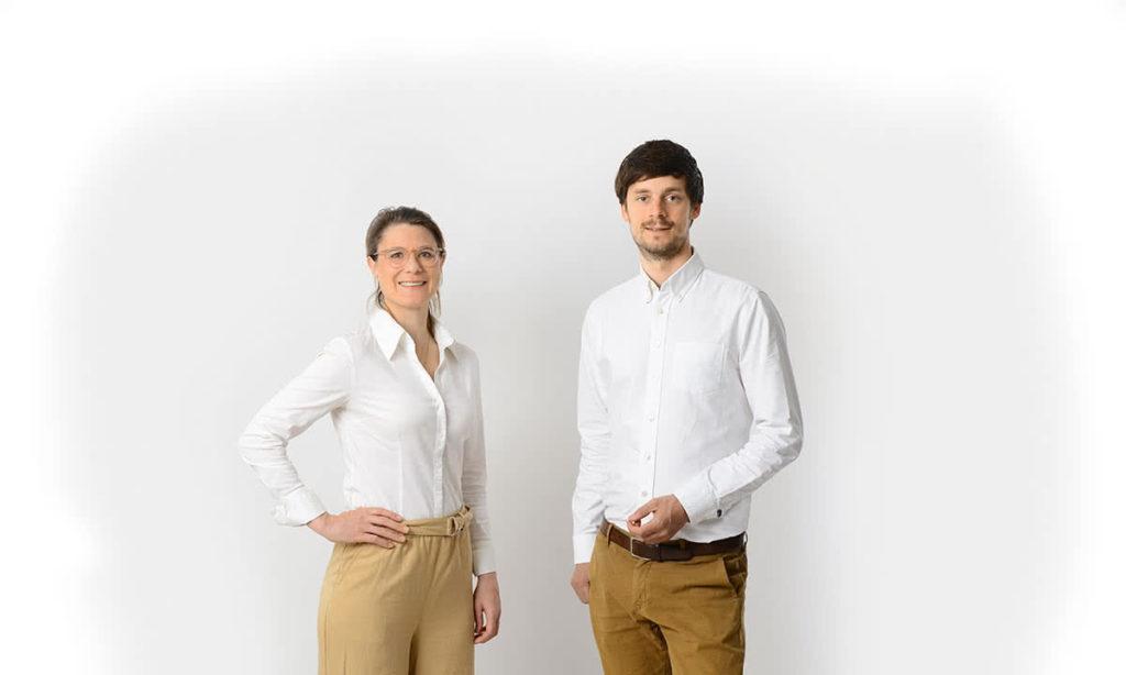 Dr. Julia Sondermann und Dr. Hanno Sondermann